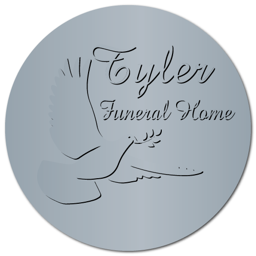 Embossed Funeral Home Labels 2 Inch Diamter Circle