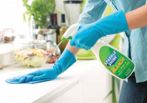 Custom Printed Disinfectant Container Labels