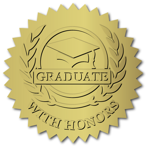 Custom Printed School, College and Diploma Labels