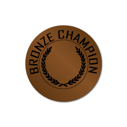 Bronze Champion Award Labels