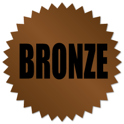 Bronze Award Stickers