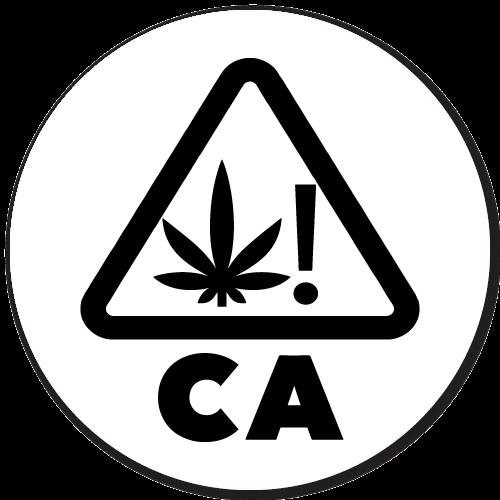 Cannabis Warning Symbol for California Labels