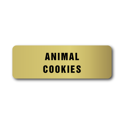 Animal Cookies Stickers