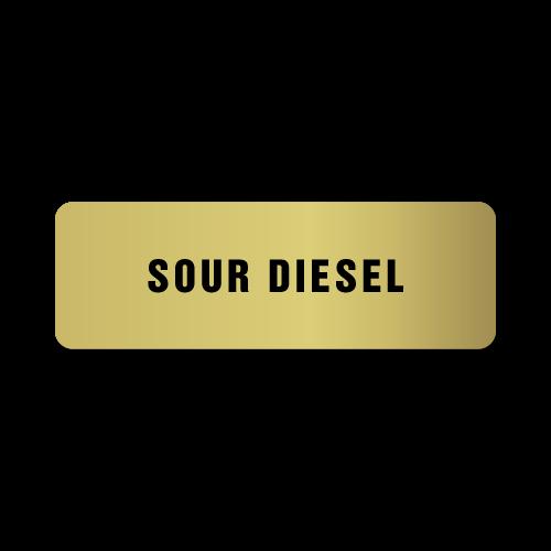 Sour Diesel Stickers