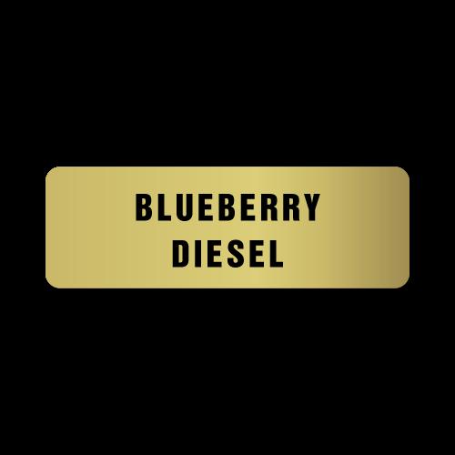 Blueberry Diesel Stickers