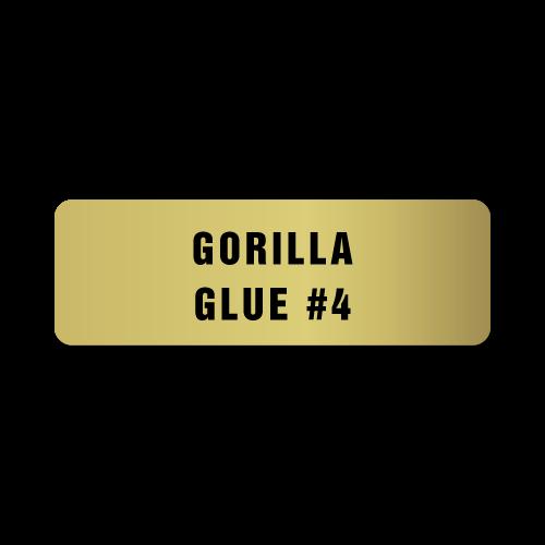 Gorilla Glue # 4 Stickers