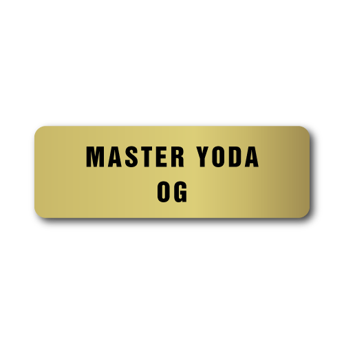 Master Yoda OG Stickers