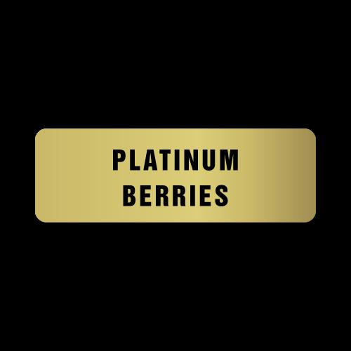 Platinum Berries Stickers