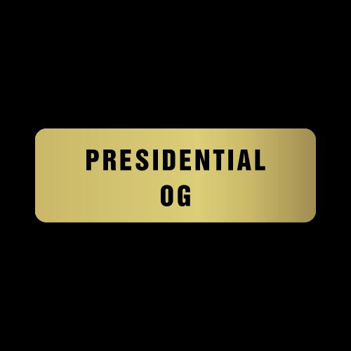 Presidential OG Stickers