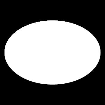 "1.625"" x 3"" Blank Oval Stickers"