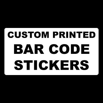 2 x 0.5 Round Corner Rectangle Custom Bar Code Labels