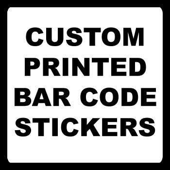 1.5 x 1.5 Round Corner Square Custom Bar Code Labels