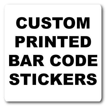 2.5 x 2.5 Round Corner Square Custom Bar Code Labels