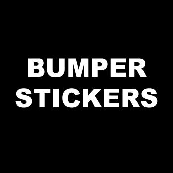 "3"" Circle Custom Printed Bumper Stickers"