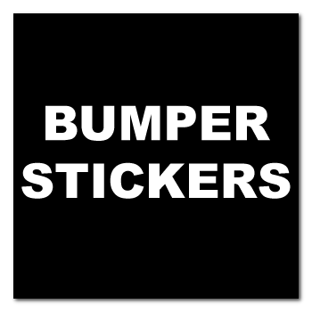 "4.25"" x 4.25"" Square Corner Square Custom Bumper Stickers"