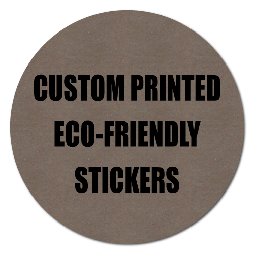 """3"""" Circle Eco-Friendly Stickers"""