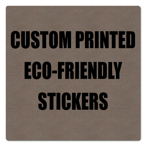 "1"" x 1"" Round Corner Square Eco-Friendly Stickers"