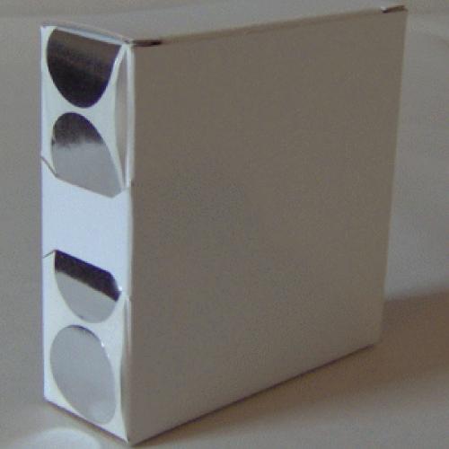 1X Cardboard Sticker Dispenser Box
