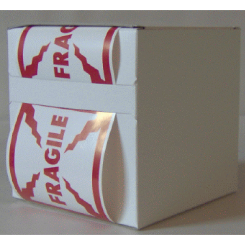 6X Cardboard Sticker Dispenser Box