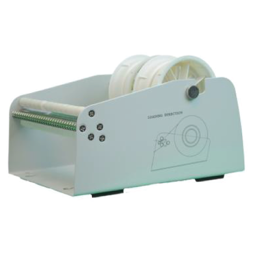 6.5 Inch Wide TableTop Roll Label Dispenser with 2 Core Holders