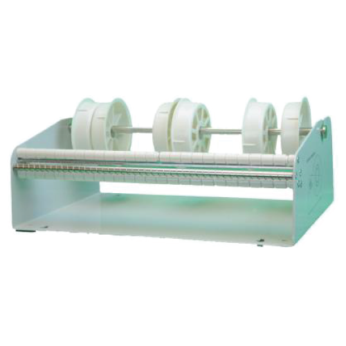 12.5 Inch Wide TableTop Roll Label Dispenser with 4 Core Holders
