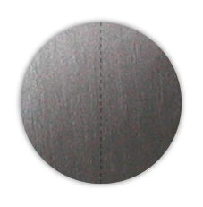 "1"" Dull Matte Silver Foil Circle Seals with Vertical Perforations"