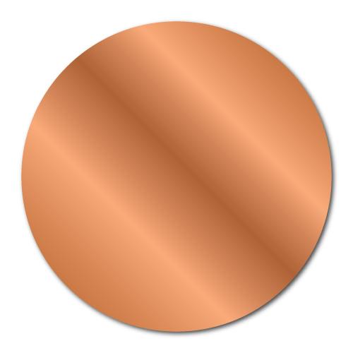 """2"""" Bright Shiny Copper Foil Circle Seals"""