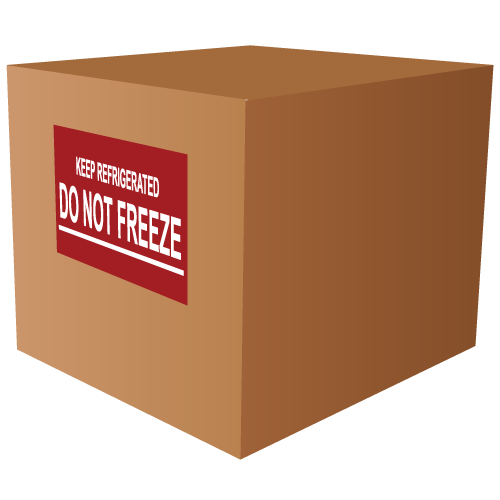 Keep Refrigerated Do Not Freeze Labels