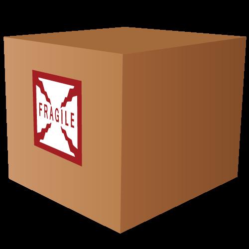 Fragile Square Labels