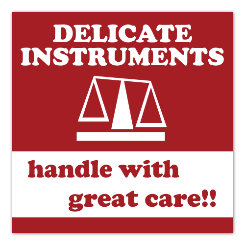 Delicate Instruments Stickers