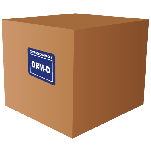 Consumer Commodity ORM-D Labels