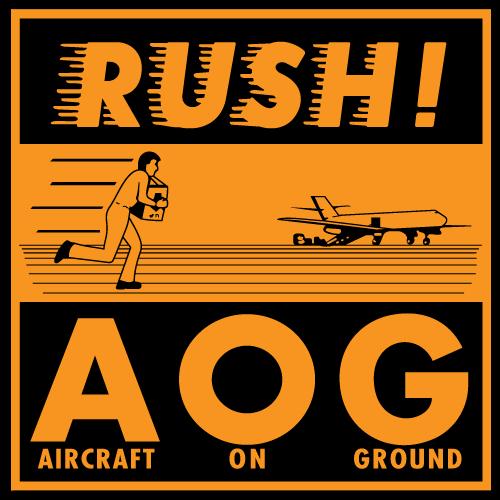 RUSH A.O.G. Stickers