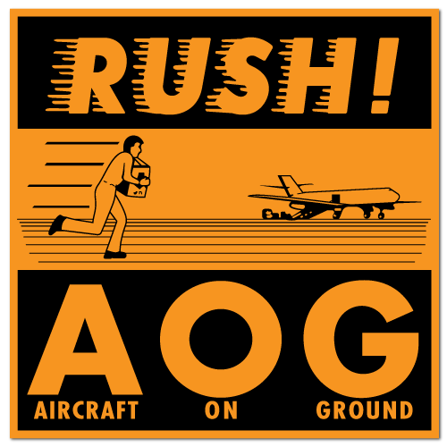 Rush a o g stickers