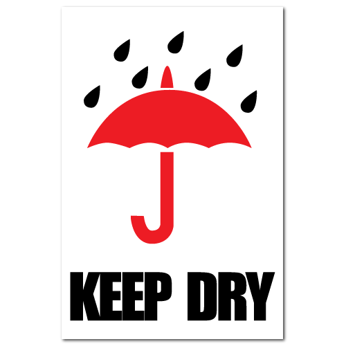 Keep Dry International Stickers
