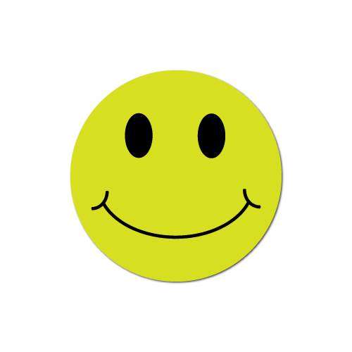 Smiley Face Chartreuse