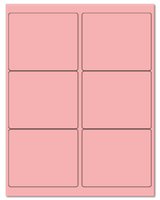"4"" X 3.33"" Pastel Pink Sheets"