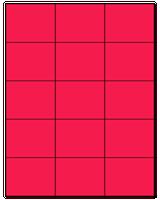 "2.83"" X 2.2"" Fluorescent Pink Sheets"