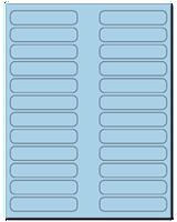 "3.5"" X 0.75"" Pastel Blue Sheets"