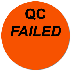 """QC Failed"" Labels"