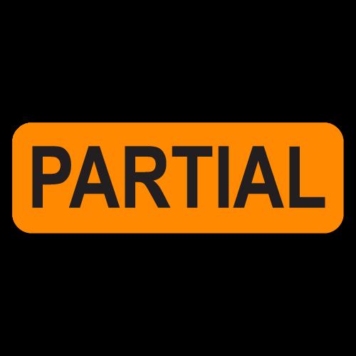 """PARTIAL"" Quality Control Labels"