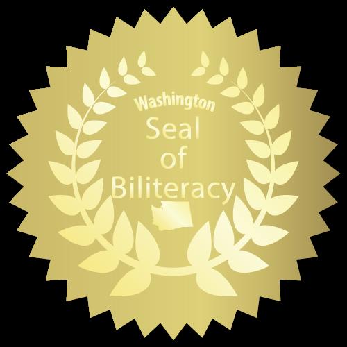 Washington Seal of Biliteracy Labels