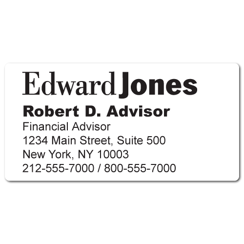 Stickertape™  Stickers for Edward Jones