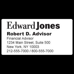 Stickertape™  Stickers for Edward Jones