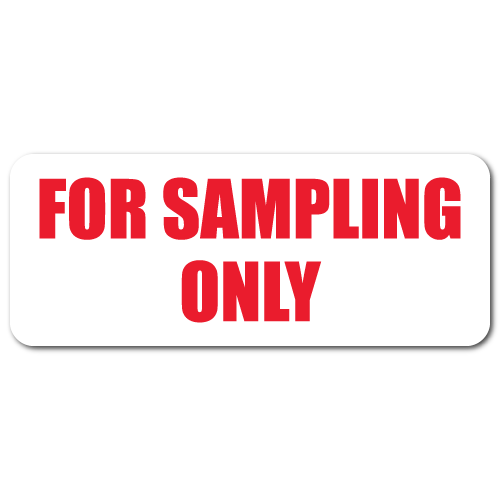 For Sampling Only Labels
