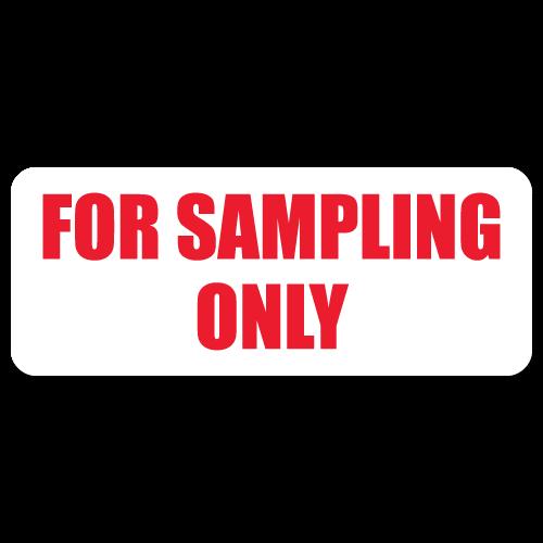 For Sampling Only Labels