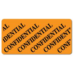 """CONFIDENTIAL"" Stickers"