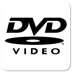"""DVD Video"" Stickers"