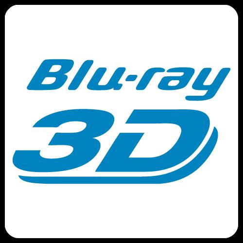 Blu-Ray 3D Stickers