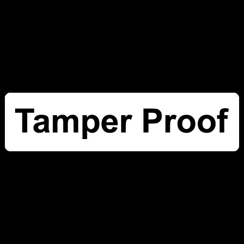 """Tamper Proof"" Destructible Labels"