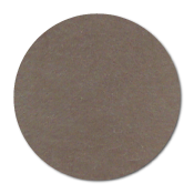 "1"" Natural Brown Kraft Circle Stickers"